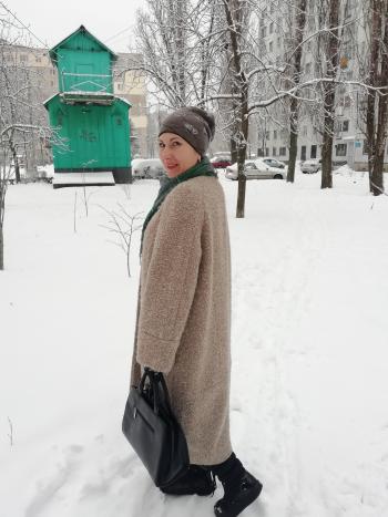 Пальто з букле