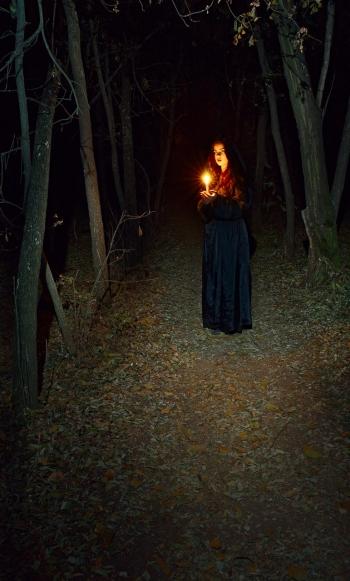 Мантія чаклунки або фантазії на тему HELLOWEEN