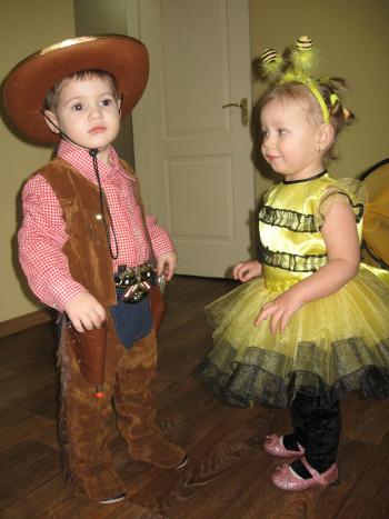 Новорічний костюм ковбоя