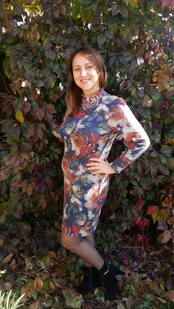 Осіння сукня.