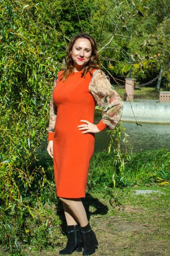 Осіння сукня для Сумського флешмобу