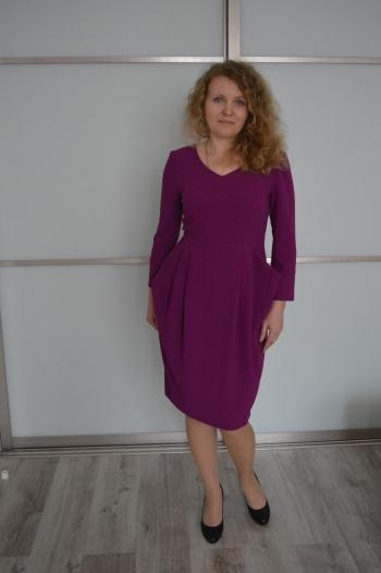 Сукня з вухастими кишенями