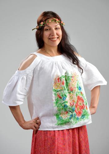 "Блуза ""Чуттєве літо"" #хочувжурнал"