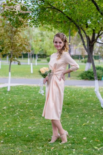 Весільна сукня burda 4/2016