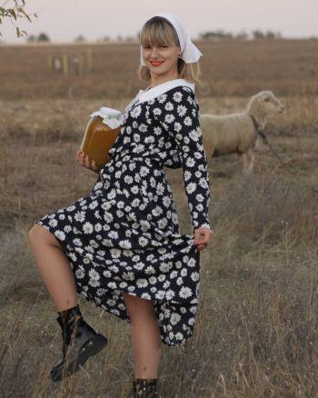 Ромашкова сукня