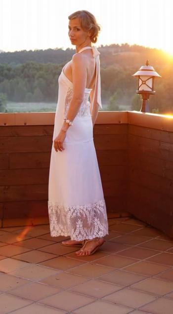 Сукня на срібне весілля