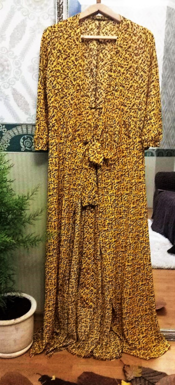 Сукня до підлоги - класна викрійка, фото ще будуть