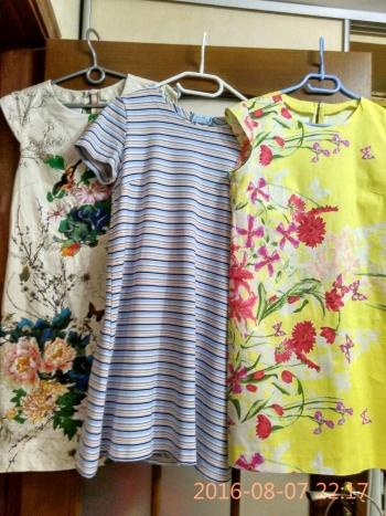 Один, два, три...чотири сукні!