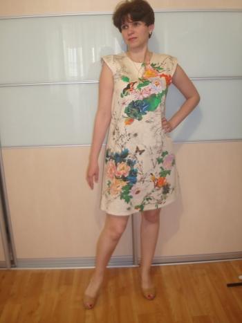 Сукня з тканини в подарунок
