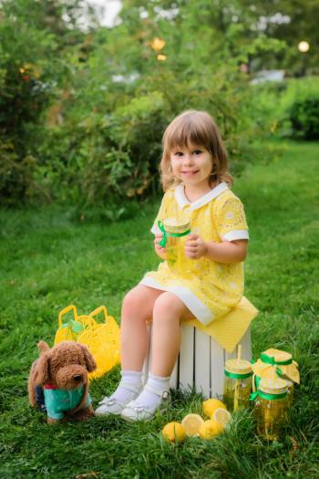 """Мій перший швачний """"гріх"""") і дитяча сукня"""