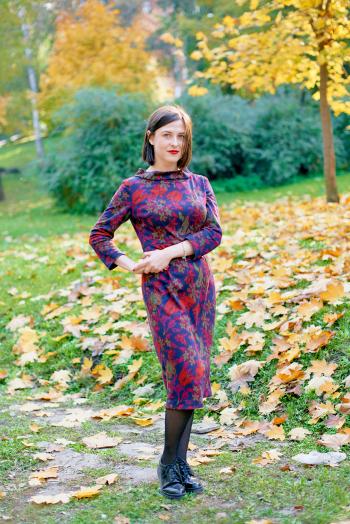 Сукня у стилі 60-х для зустрічі