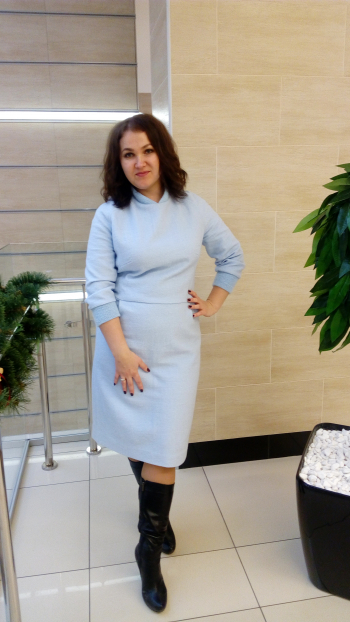 Сукня за мотивами Max Mara