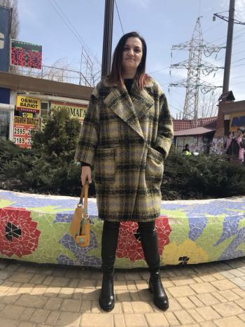 Моє перше пальто.