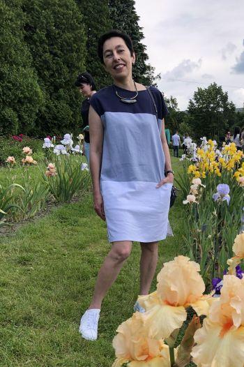 Літня сукня з льону