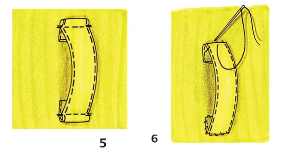Як пришити шльовки на брюки