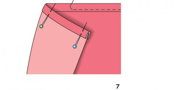 Як окантовувати зрізи. Енциклопедія шиття