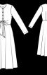 Сукня відрізна по талії - фото 3