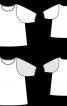 Блузка розкльошеного силуету - фото 3