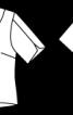 Блуза з глибоким декольте на спинці - фото 3