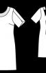 Сукня з декольте на спинці - фото 3
