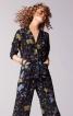 Блуза простора в піжамному стилі - фото 1