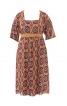 Сукня силуету ампір з фігурним декольте - фото 1