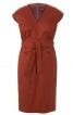 Сукня-футляр з приспущеними плечима - фото 2