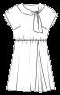 Сукня із суцільнокроєними рукавами - фото 3