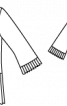 Блузка прямого силуету із плісировкою - фото 3