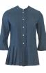 Блузка прямого силуету із плісировкою - фото 2