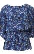 Блузка зі зборкою на талії - фото 2