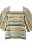 Блузка з вирізом каре - фото 2