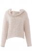 Пуловер із суцільнокроєним коміром - фото 2