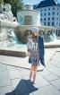 Сукня прямого силуету на застібці - фото 1