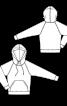 Анорак трикотажний з капюшоном - фото 3