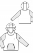 Анорак з капюшоном і великою кишенею - фото 3