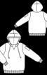 Анорак з капюшоном і кишенею на рукаві - фото 3