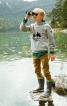 Анорак з капюшоном і кишенею на рукаві - фото 1
