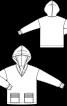 Анорак з капюшоном і накладними кишенями - фото 3
