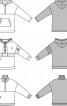 Анорак із приспущеною лінією плеча і капюшоном - фото 3