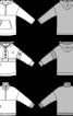 Анорак із приспущеною лінією плеча і високим коміром - фото 3