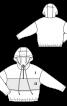 Анорак широкого кроя с отлетной деталью переда - фото 3