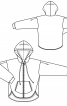 Анорак просторого крою з капюшоном - фото 3