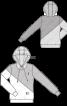 Анорак з капюшоном в стилі колор-блокінг - фото 3