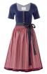Сукня приталеного крою з фартухом - фото 2