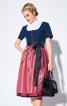 Сукня приталеного крою з фартухом - фото 4