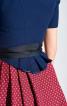 Сукня приталеного крою з фартухом - фото 5