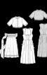 Дірндль із довгим фартухом і блузкою - фото 3