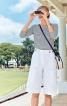 Бермуди з великими накладними кишенями - фото 1