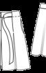 Бермуди зі складками і поясом-зав'язкою - фото 3